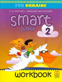Робочий зошит Smart Junior 2 Workbook, НУШ, автор Mitchell